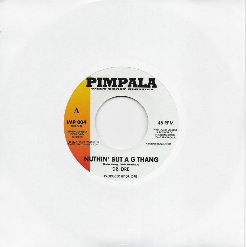 Dr. Dre - Nuthin' but a G thang / Afro Puffs - The lady of rage (Amerikaanse uitgave)