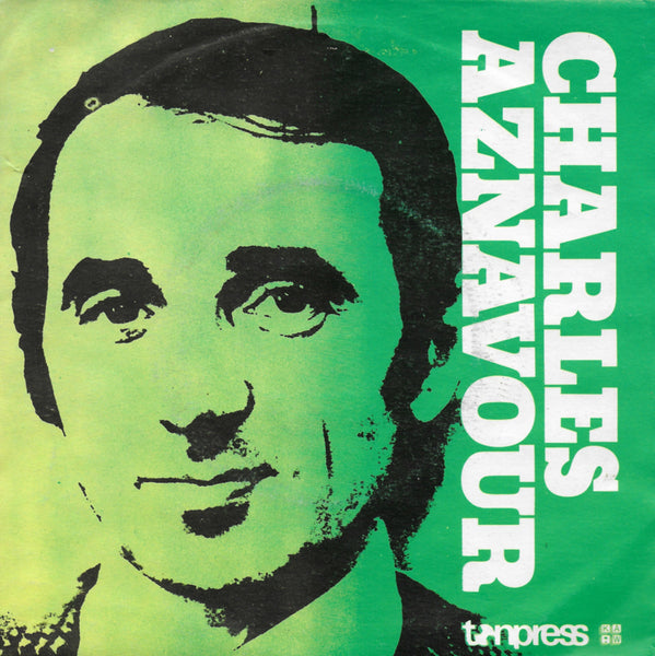 Charles Aznavour - I will warm your heart (Poolse uitgave)