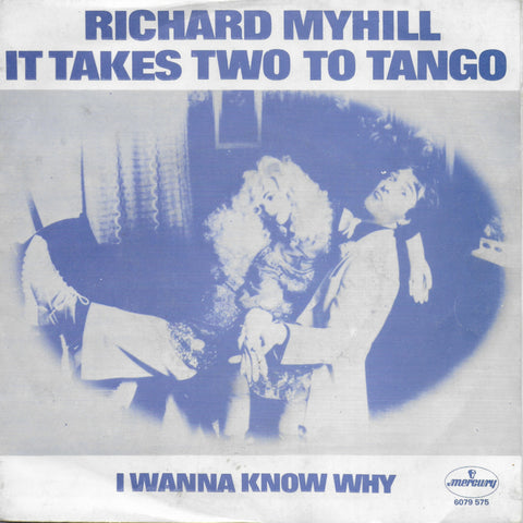 Richard Myhill - It takes two to tango (Belgische uitgave)