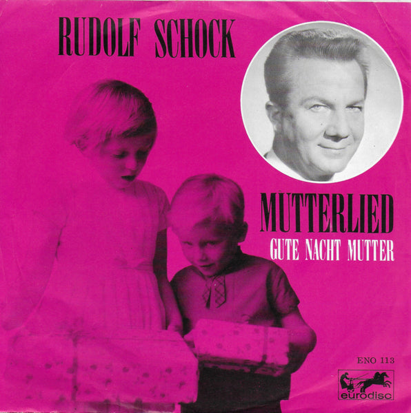 Rudolf Schock - Mutterlied