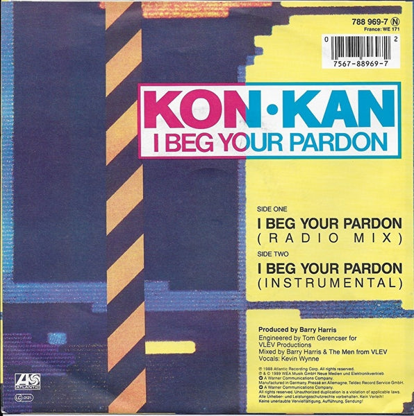 Kon Kan - I beg your pardon