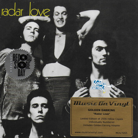 Golden Earring - Radar love (Limited edition, geel vinyl)