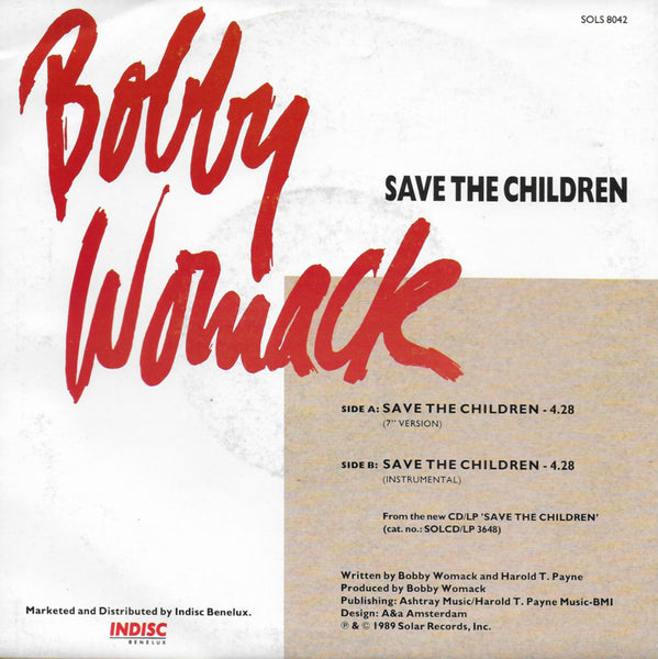 Bobby Womack - Save the children
