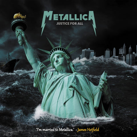 "Metallica - Justice for all (Limited 10"" dubbel vinyl)"