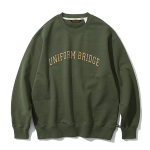 Uniform Bridge - Arch Logo Sweatshirts (Khaki)
