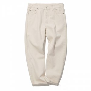 Uniform Bridge - Washing Crop Denim Pants (Natural)
