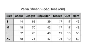 Velva Sheen - 2PAC Tees (Navy)