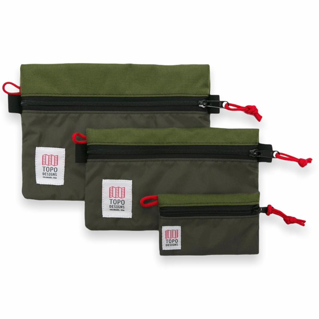 Topo Designs - Accessory Bag Micro (Olive)