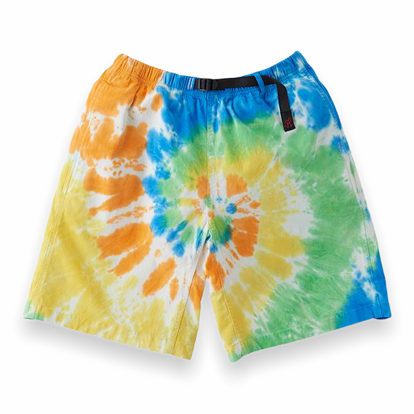Gramicci - Tie Dye G-Shorts (Orange Spiral)