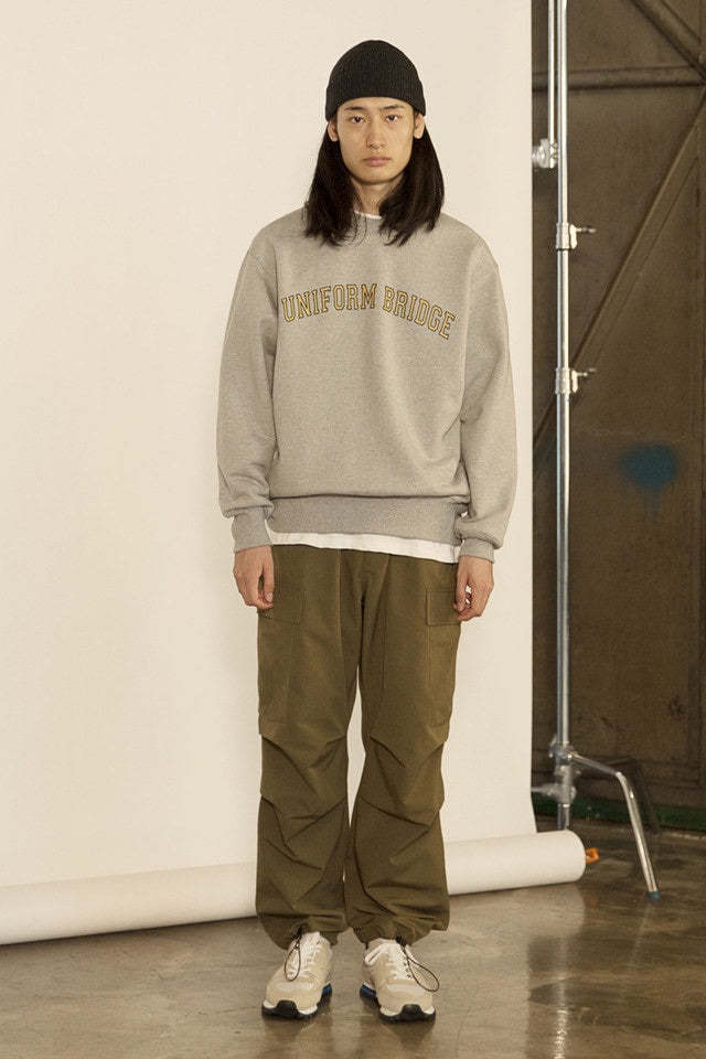 Uniform Bridge - Arch Logo Sweatshirts (Grey)