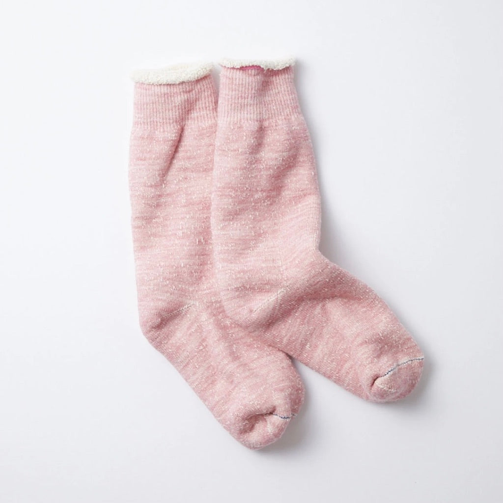 RoToTo - Double Face Socks (Light Pink)