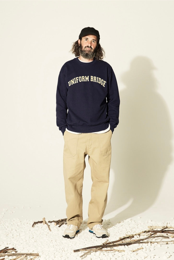 Uniform Bridge - Arch Logo Sweatshirts (Navy)