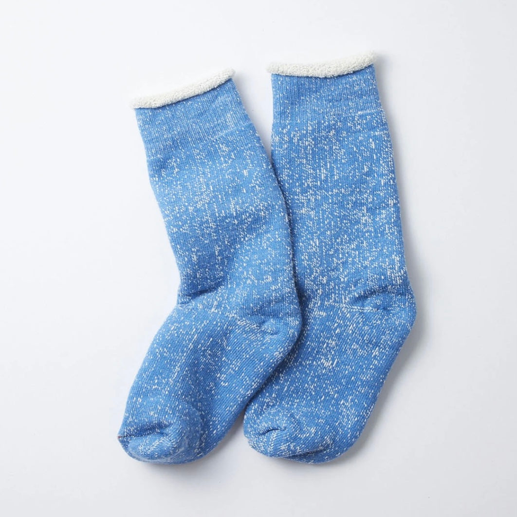 RoToTo - Double Face Socks (Blue)