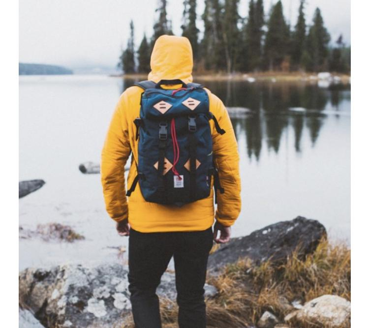 Topo Designs - Klettersack (Navy / Brown Leather)