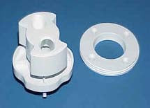 HotSpring & Tiger River Spa Parts Rotary Jet Kit - White NOW 1 piece!