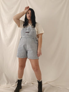 Rare Vintage Blue Checkered Overalls - Size L