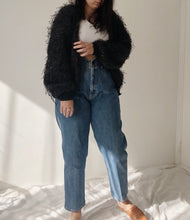 Load image into Gallery viewer, 80s Fluffy Cardigan - Size M/L