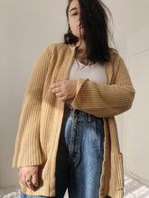 Load image into Gallery viewer, Caramel Knit Cardigan - Size L