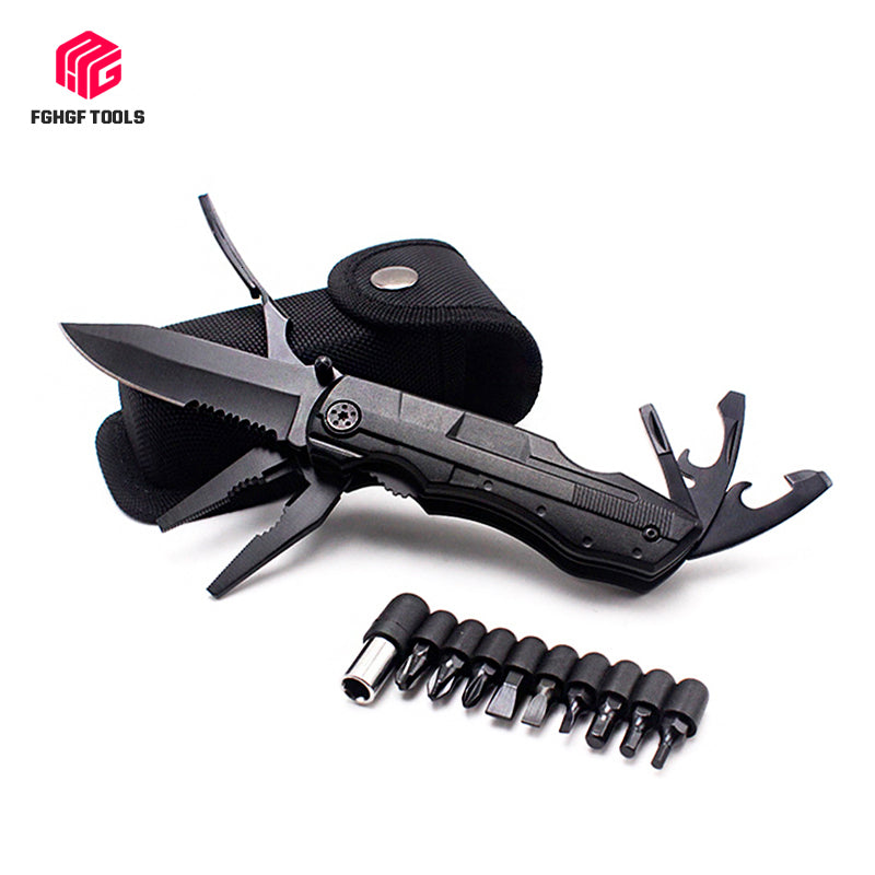 Outdoor Survival Multi Tool Folding Knife - Canada Camp and Hike