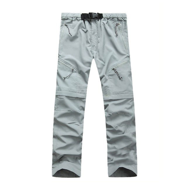 Men's Quick Dry Detachable Hiking Pants - Canada Camp and Hike