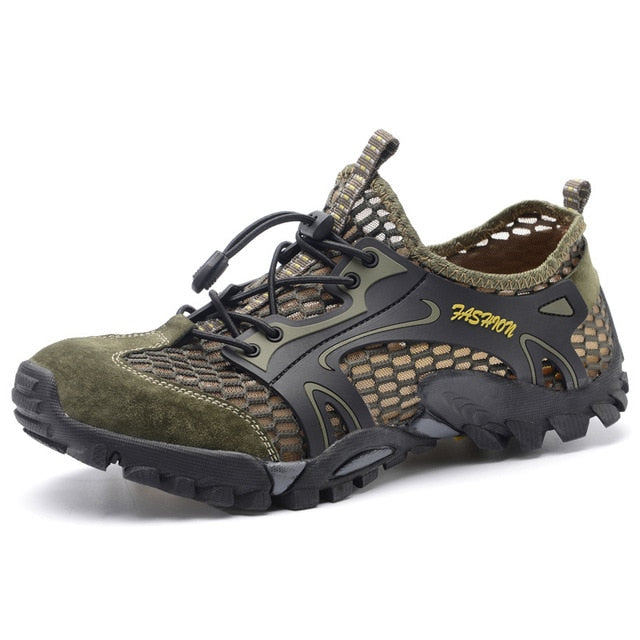 Summer Breathable Men Hiking Shoes - Canada Camp and Hike