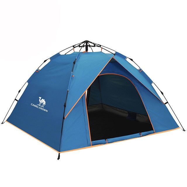 3-4 People Self Unfolding Waterproof Large Tents - Canada Camp and Hike