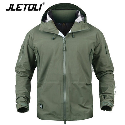 Waterproof Jacket Windbreaker - Canada Camp and Hike