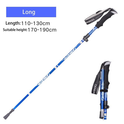 Multifunction Walking Stick Trekking Poles - Canada Camp and Hike