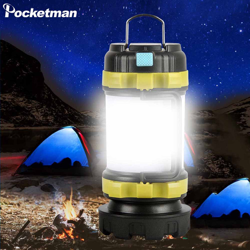 Camp Lamp LED Camping Light USB Rechargeable Flashlight - Canada Camp and Hike