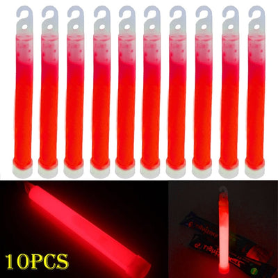"10pcs 6"" Industrial Grade Glow Sticks - Canada Camp and Hike"