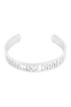 Load image into Gallery viewer, Amazing Grace Bangle Bracelet