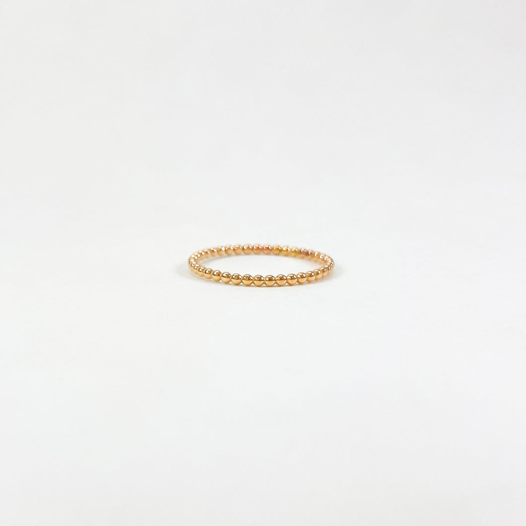 Laurel Elaine Beaded Ring
