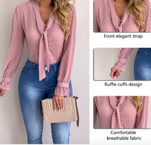 Load image into Gallery viewer, Elegant Chiffon Blouse