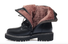 Load image into Gallery viewer, Genuine Leather Winter Boots