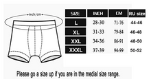 Load image into Gallery viewer, 7PC Men's Solid Cotton Boxers