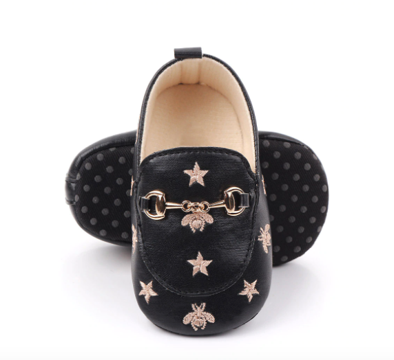 Bees & Stars Newborn Baby Casual Loafers