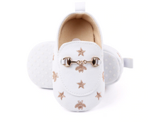 Load image into Gallery viewer, Bees & Stars Newborn Baby Casual Loafers