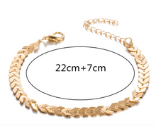 Load image into Gallery viewer, Bohemian Arrow Anklet Bracelet
