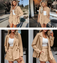 Load image into Gallery viewer, Casual Short Ladies Blazer Suit