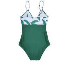 Load image into Gallery viewer, Maternity Leaf Swimwear One-Piece