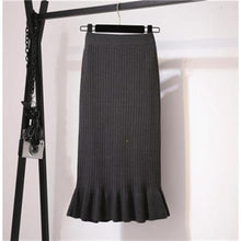 Load image into Gallery viewer, Ruffle Midi Pleated Skirt
