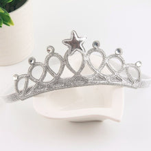 Load image into Gallery viewer, Baby Headband Crown Flower Turban Hair Accessories