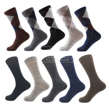 Load image into Gallery viewer, Men's Classic Dress Socks