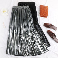 Load image into Gallery viewer, Pleated Chic High Waisted Skirt