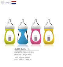 Load image into Gallery viewer, 240ml Baby Bottle with Silicone Sleeve