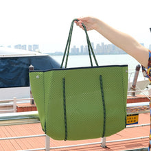 Load image into Gallery viewer, Luxurious Neoprene Breathable Tote Bag