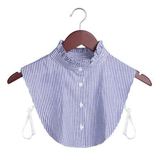 Load image into Gallery viewer, Detachable Lapel Blouse and Collar