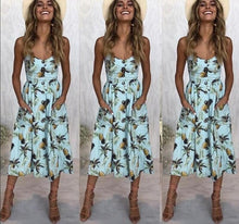 Load image into Gallery viewer, Vintage Casual Sundress