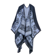 Load image into Gallery viewer, Cashmere Blended Poncho