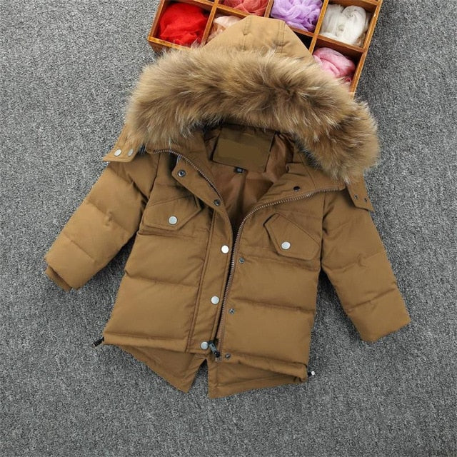 Parker Boys Hooded Jacket